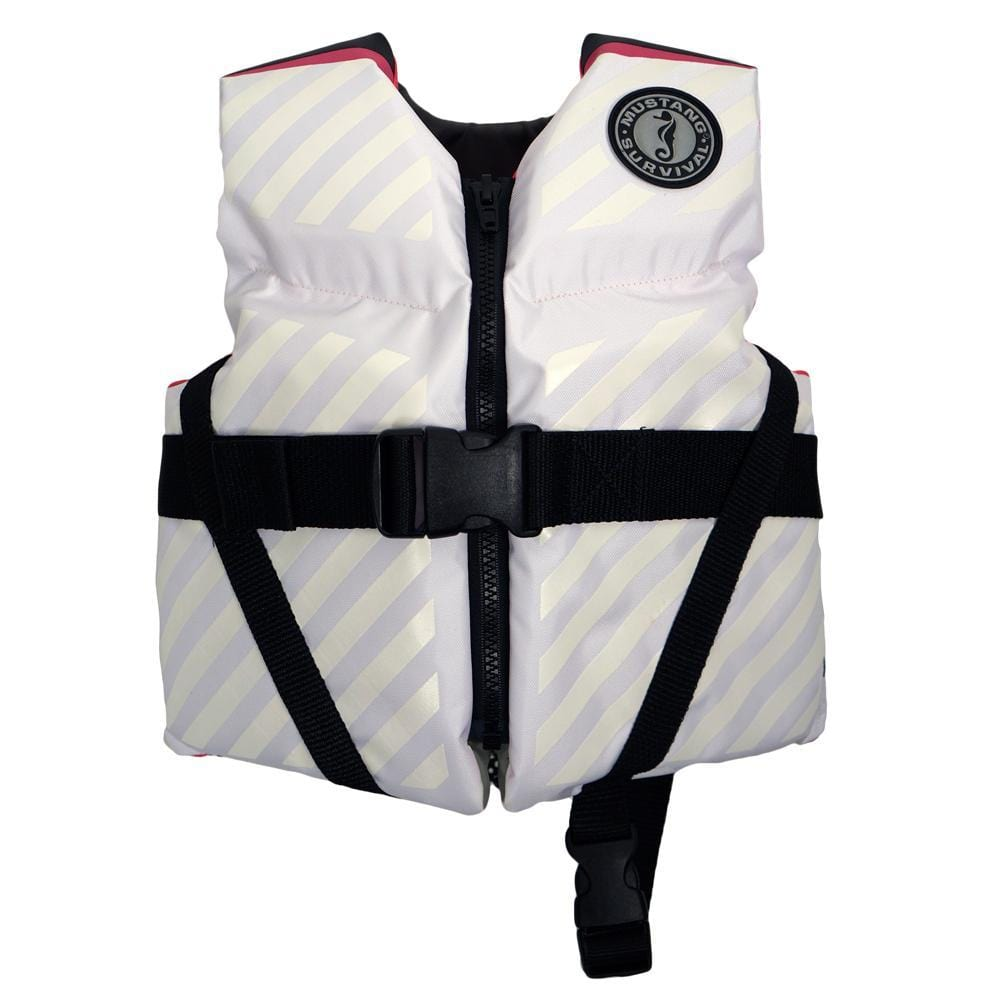 Mustang Lil' Legends 70 Child Vest - 30-50lbs - Pink-White