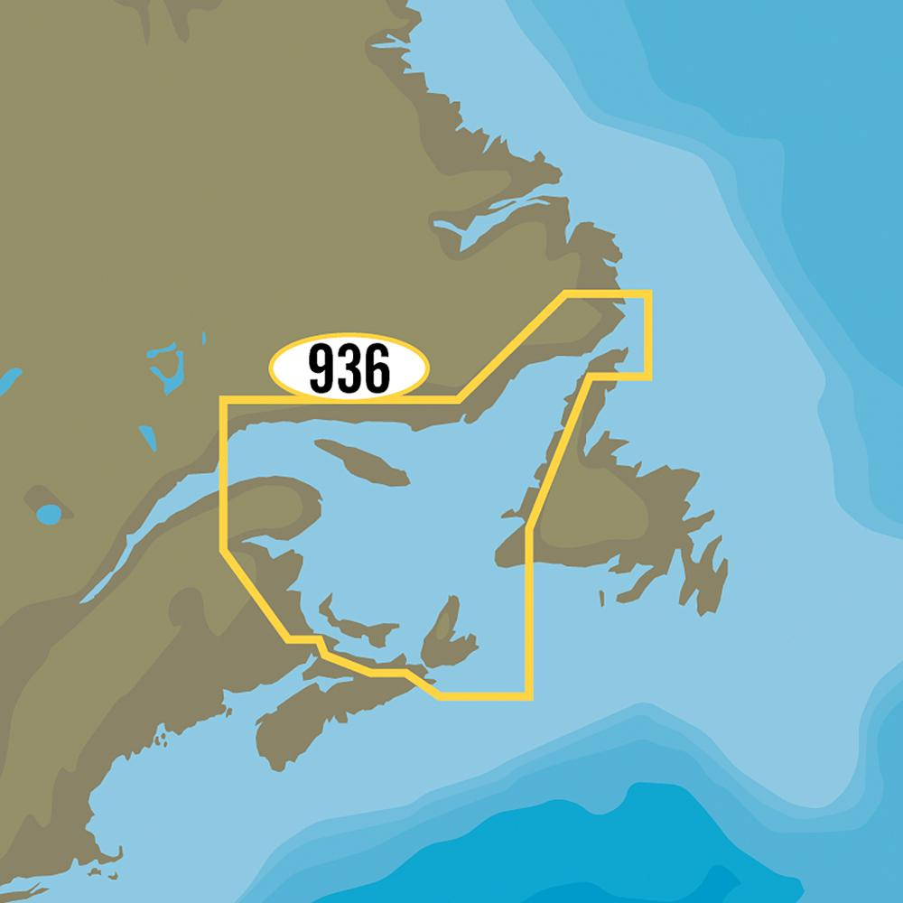 C-MAP MAX-N+ NA-Y936 - Gulf of St. Lawrence