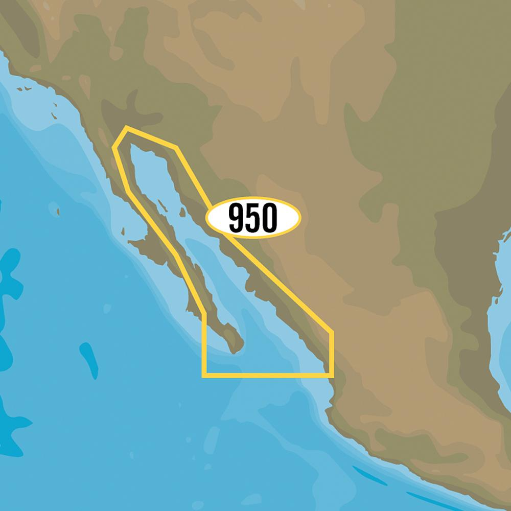 C-MAP MAX-N+ NA-Y950 - Gulf of California, Mexico