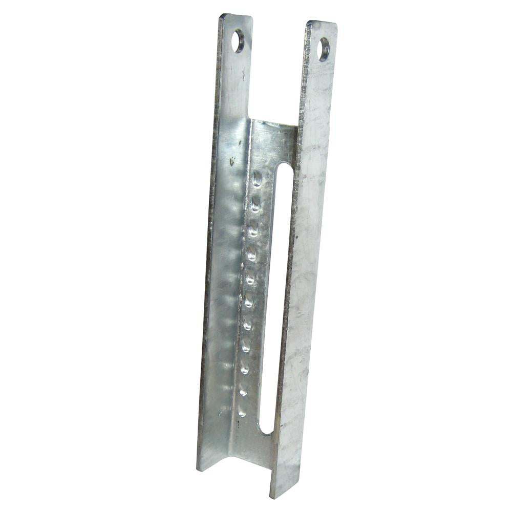 C.E. Smith Vertical Bunk Bracket Lanced - 9-1-2""
