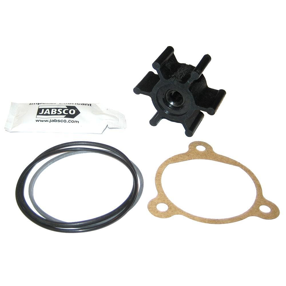 Jabsco Neoprene Impeller Kit w-Cover, Gasket or O-Ring - 6-Blade - 5-16 Shaft Diameter