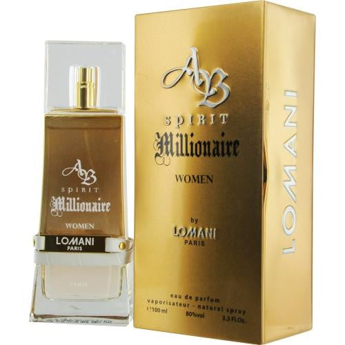 Ab Spirit Millionaire By Lomani Eau De Parfum Spray 3.3 Oz - Got2Save