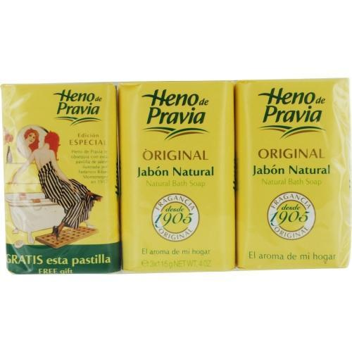 Heno De Pravia By Parfums Gal Set Of 2 Soaps Plus 1 Free And Each Is 4 Oz - Got2Save