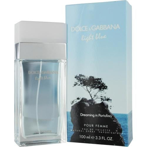 D & G Light Blue Dreaming In Portofino By Dolce & Gabbana Edt Spray 3.3 Oz - Got2Save