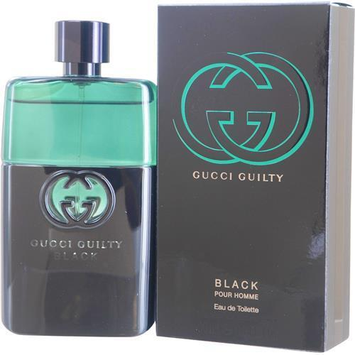 Gucci Guilty Black Pour Homme By Gucci Edt Spray 3 Oz - Got2Save