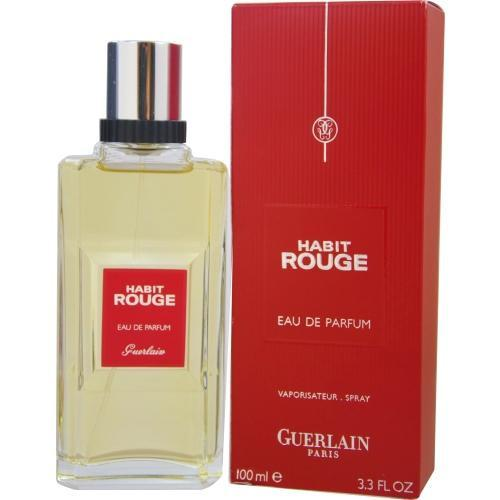 Habit Rouge By Guerlain Eau De Parfum Spray 3.3 Oz - Got2Save