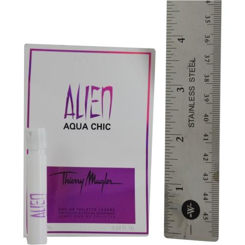 Alien Aqua Chic By Thierry Mugler Light Edt Spray Vial On Card - Got2Save