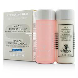 Cleansing Kit ( Dry - Sensitive ): Cleansing Milk With White Lily100ml-3oz + Floral Toning Lotion (alcohol Free) 100ml-3oz--2pcs - Got2Save