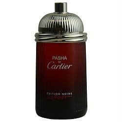 Pasha De Cartier Edition Noire Sport By Cartier Edt Spray 3.3 Oz *tester