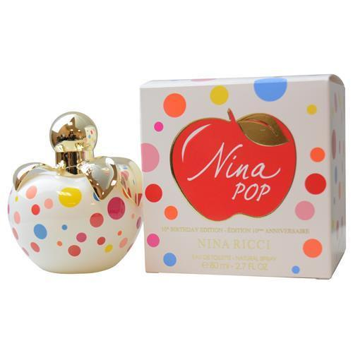 Nina Pop By Nina Ricci Edt Spray 2.7 Oz (10th Birthday Edition)