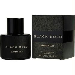 Kenneth Cole Black Bold By Kenneth Cole Eau De Parfum Spray 3.4 Oz - Got2Save