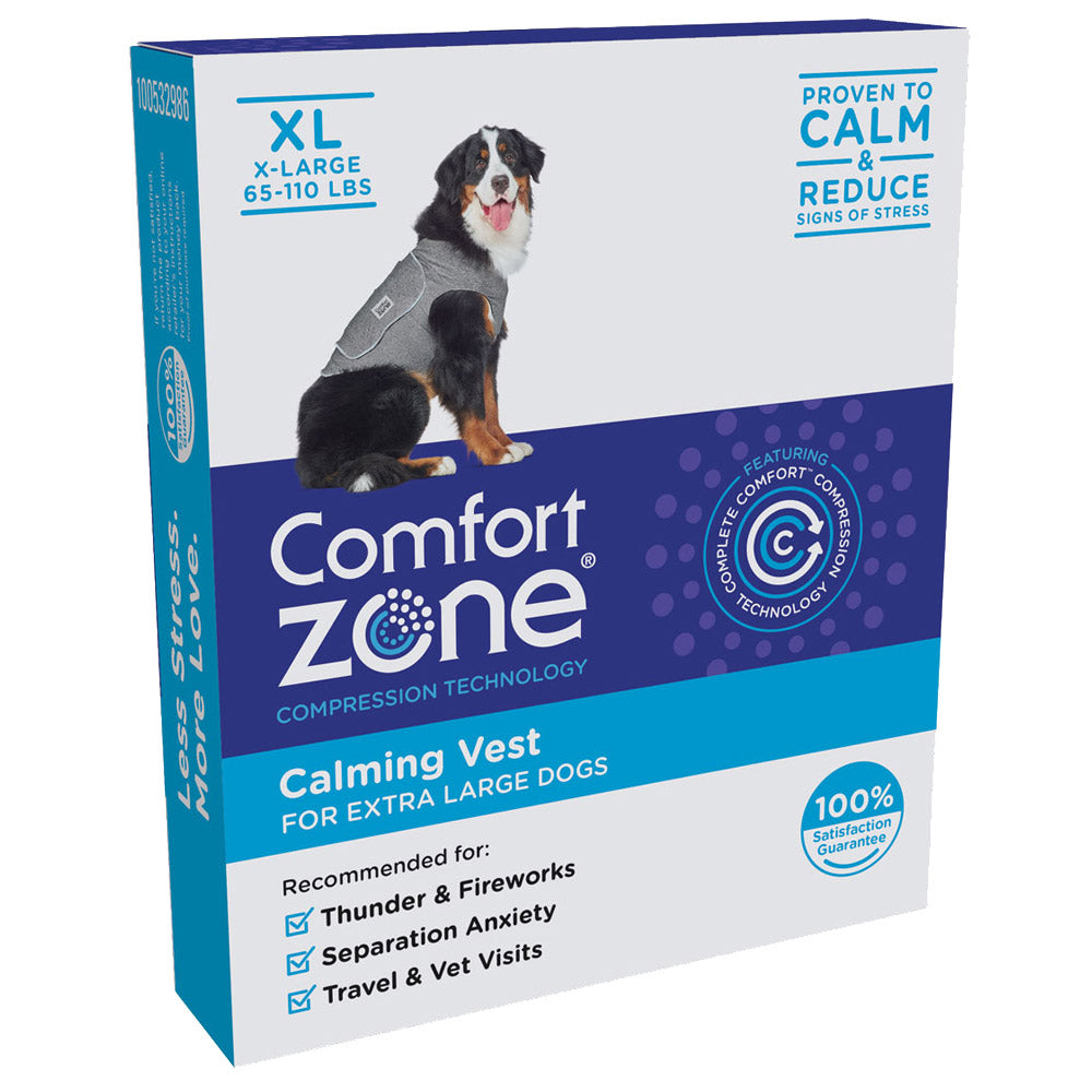 Comfort Zone Dog Vest Extra Large