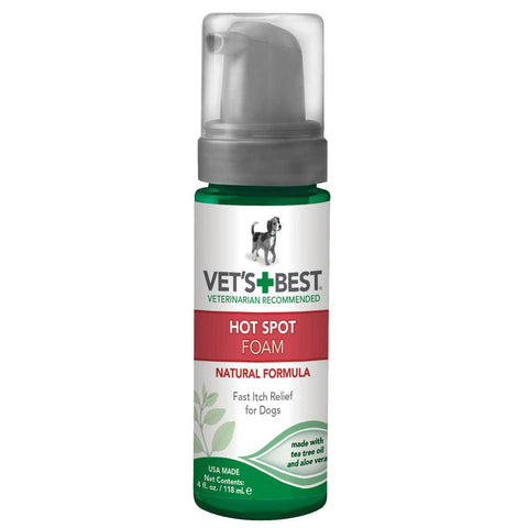 "Vet's Best Hot Spot Dog Skin Care Shampoo 16oz Green 2.45"" X 2.45"" X 8"""