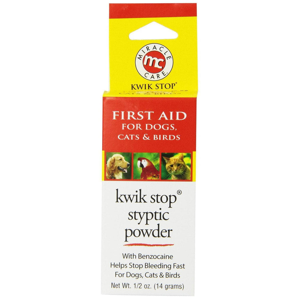 Miracle Corp Kwik-stop Styptic Powder 0.5 Ounces