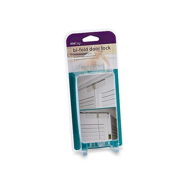 Kidco Bi-fold Door Lock Clear