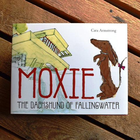 Moxie, The Dachshund of Fallingwater