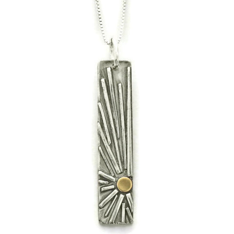 Shine Vertical Bar Necklace