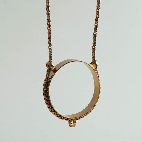 Circle Light Necklace