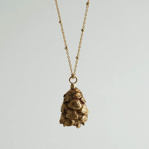 Hemlock Necklaces - Gold & Silver