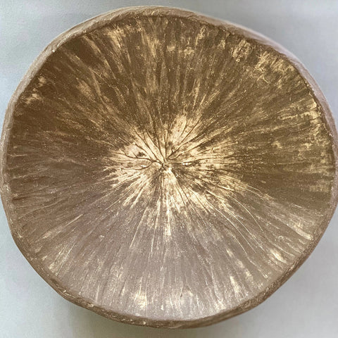 Stoneware Small Bowl Unglazed