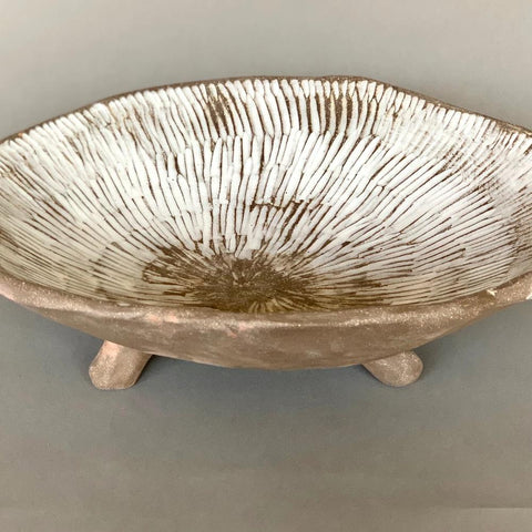 Stoneware Small Bowl White Glaze