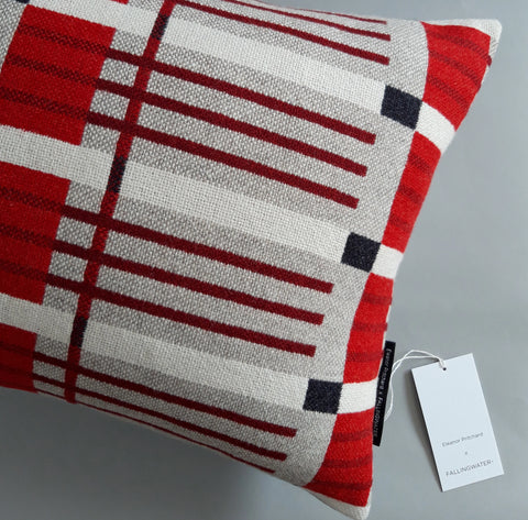 NEW! Ffenestr Pillow by Eleanor Pritchard