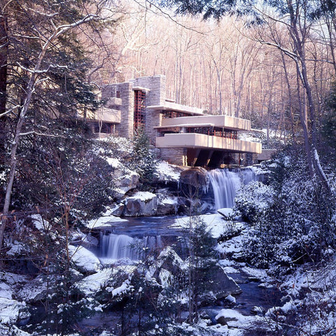 Fallingwater Winter Photograph
