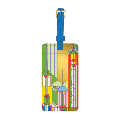 Frank Lloyd Wright Saguaro Luggage Tag