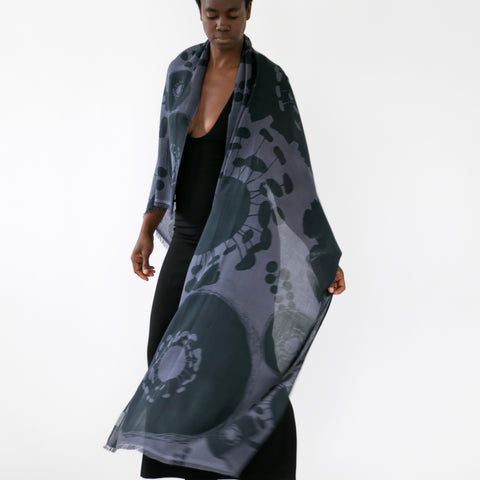 Bloom Scarf, Shale