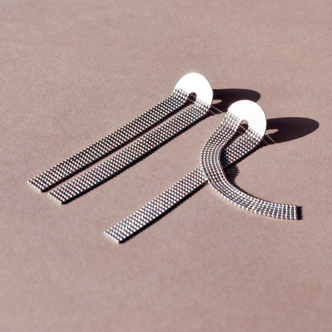 Long Slinky U Earring