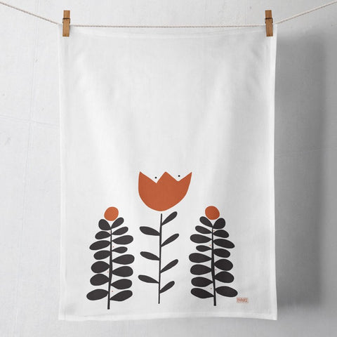 Wild & Crown Flowers Tea Towel