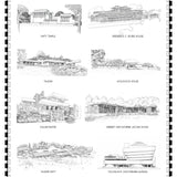 NEW! Frank Lloyd Wright UNESCO Print II
