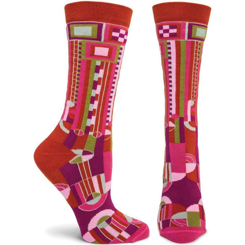 Women's Saguaro Socks (Wine)