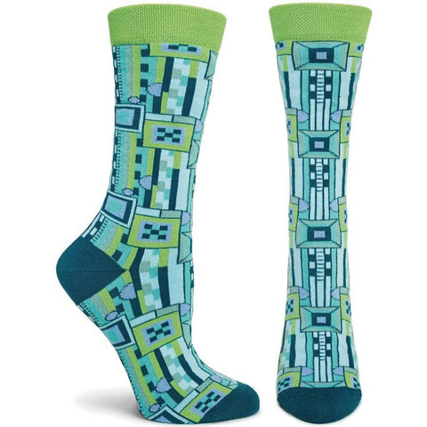 Women's Saguaro Socks (Blue)