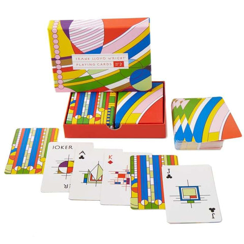 Frank Lloyd Wright Playing Cards Set