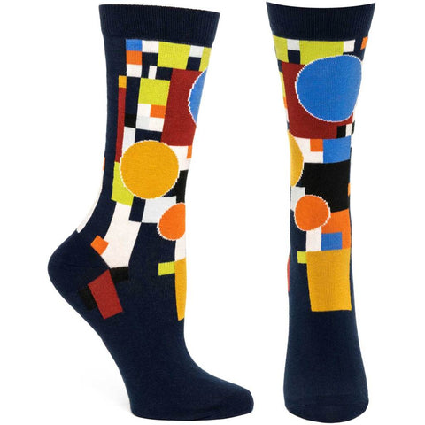 Women's Coonley Playhouse Socks (Navy)
