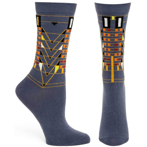 Women's Tree of Life Socks (Grey)