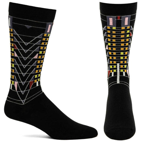 Men's Tree of Life Socks (Black)