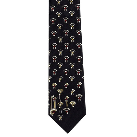 Frank Lloyd Wright April Showers Tie