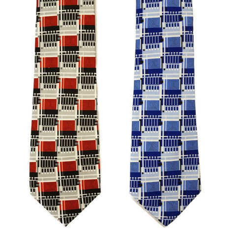 Frank Lloyd Wright Design 102 Tie