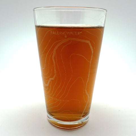 NEW! Fallingwater Pint Glass