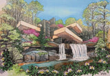 NEW! Fallingwater Four Season Note Card Set
