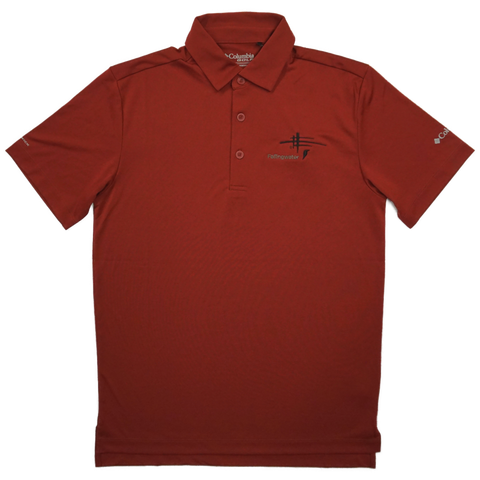 Fallingwater Logo Polo - Red