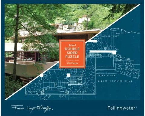 Fallingwater Two-Sided Puzzle