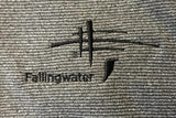 NEW! Fallingwater Logo 1/4 Zip Outerwear Mens