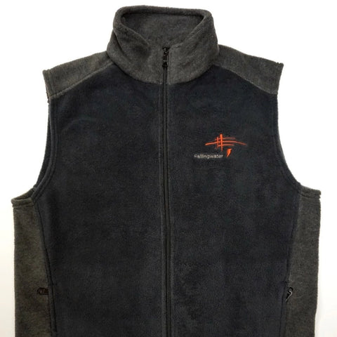 Fallingwater Logo Fleece Vest Mens