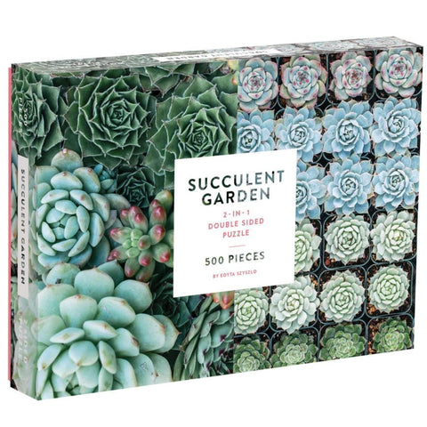 Succulent Two-Sided Puzzle