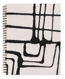 Striped Painted Workbook