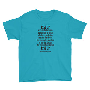 Rise Up Youth Tee (lighter colors)