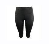Black Crop Legging (Light compression)